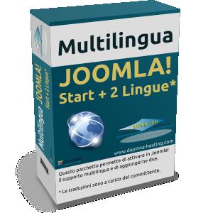 Aggiunta soluzione Joomla! Multilingua Start